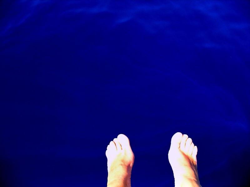 blaus mar Menorca azul