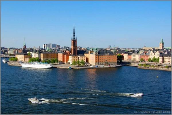 Riddarholmen in Stockholm