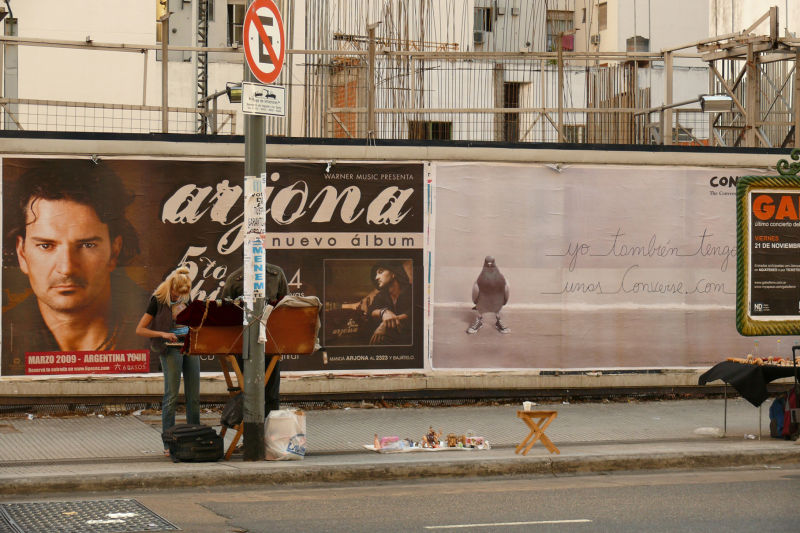 Gente de mi ciudad en Calle Corrientes