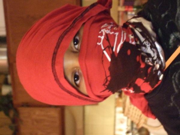 playing ninja