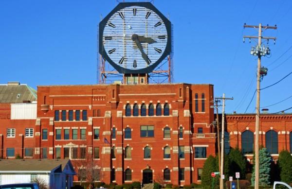 Clock Colgate Indiana