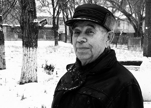 A picture of an older Ukrainian man