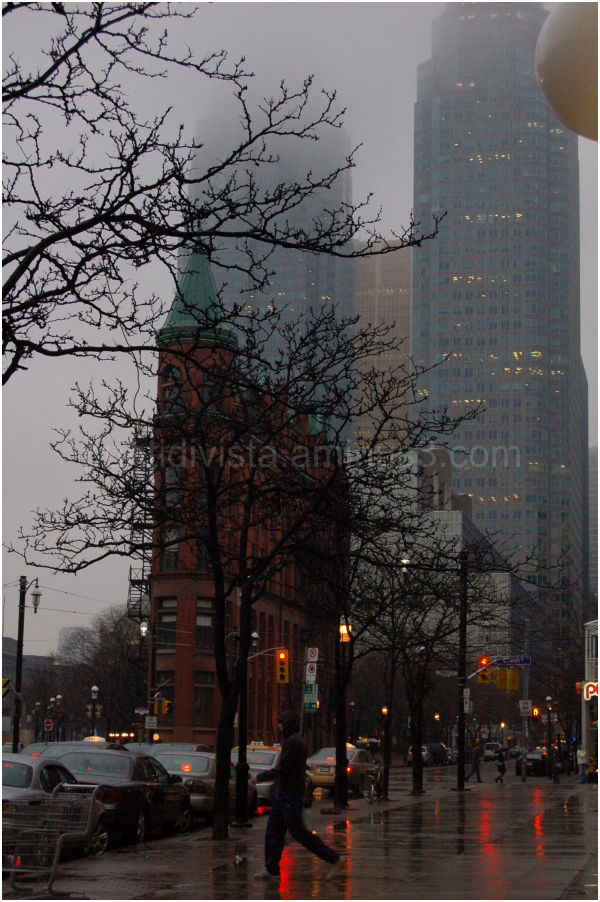Rainy day in Toronto