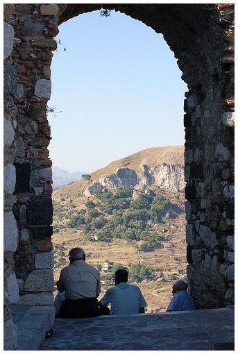 Pomeriggio a Castelmola, Taormina