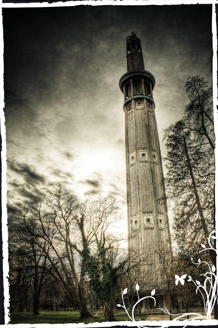 La tours d'orientation de Grenoble
