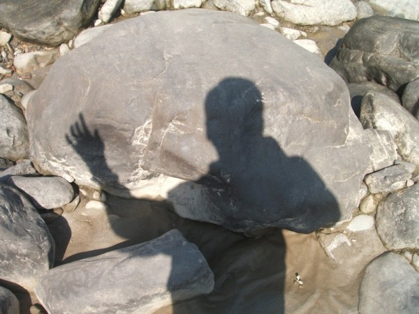 my image in shadow