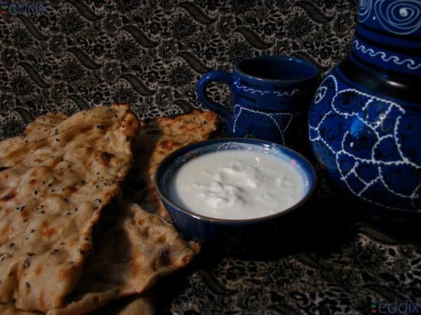 Iranian Meal, Nan o Mast