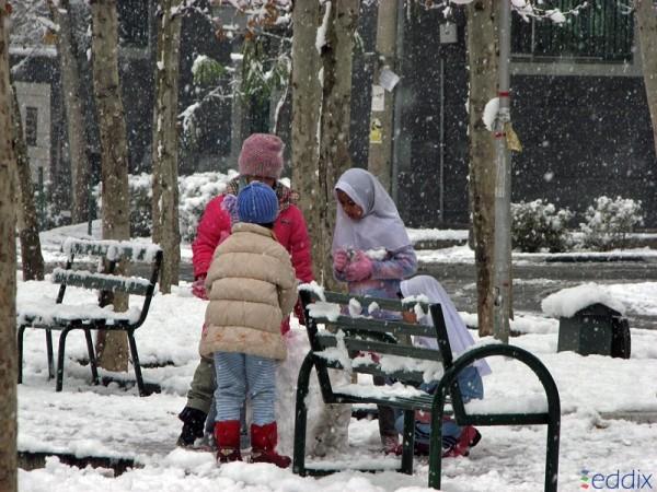 Snowy Childhoodُ