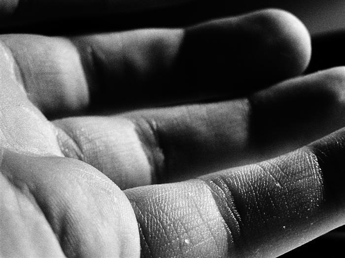 my hand