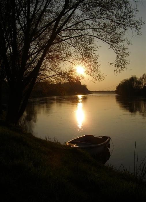 Sunset on the Loire