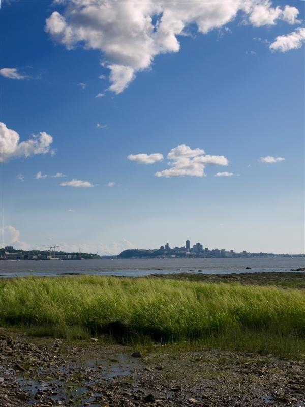 View on Quebec city