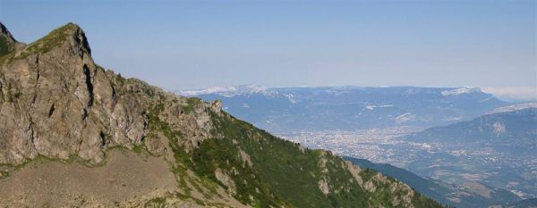 View on Grenoble
