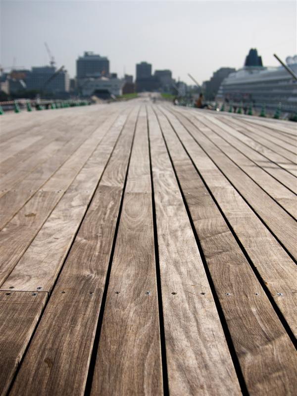 Wooded floor