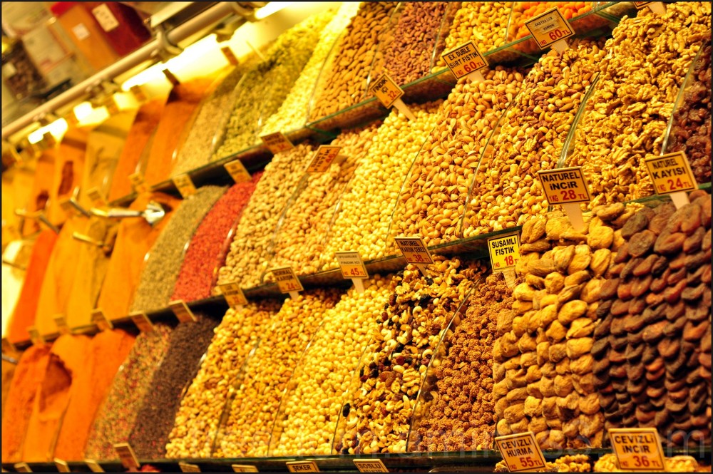 Spices in the Bazaar