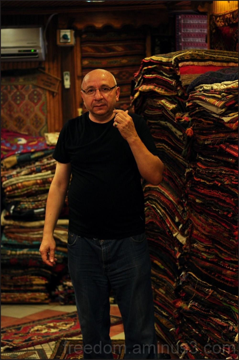 rug shop in fethiye Turkey