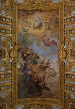 ceiling fresco, Ss Ambrogio e Carlo