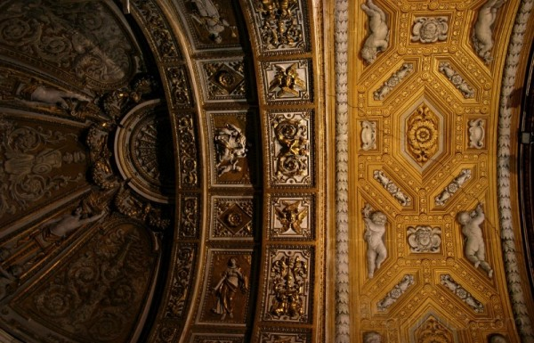 ceiling somewhere in Rome