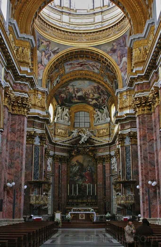 Sant'Ambrogio e Carlo al Corso - Interiour