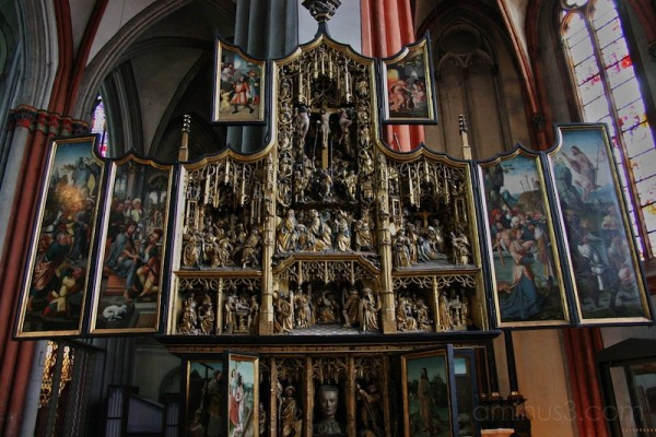 Winged altar, Xanten, Cathedral