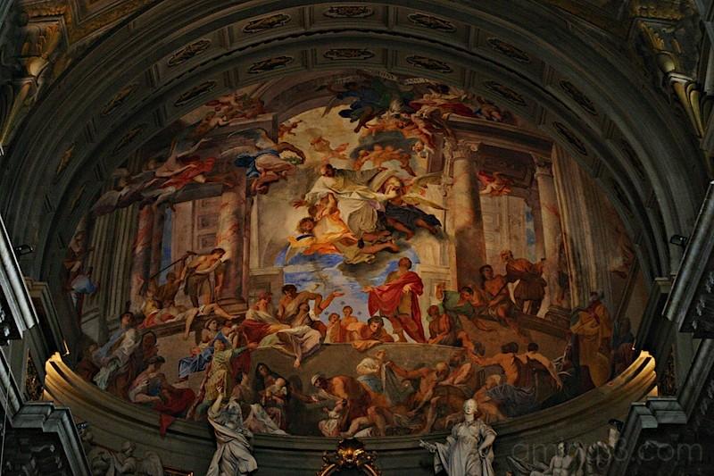 Sant'Ignazio: Fresco In Altar Apse