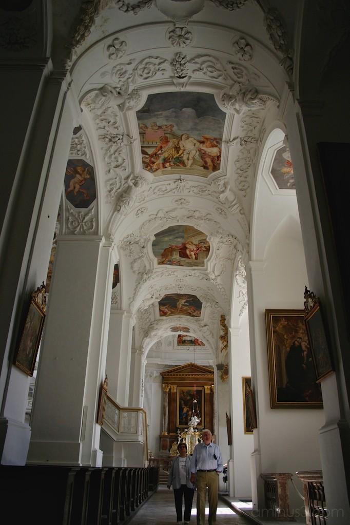 side aisle 1 of Benedictine Monastery, Tegernsee
