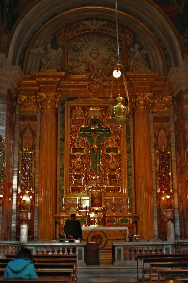 Sacred Heart Altar, Sant'Ignazio