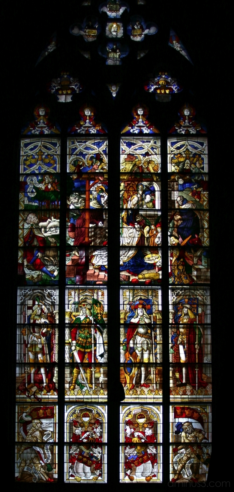 Glass Window, Cologne Cathedral