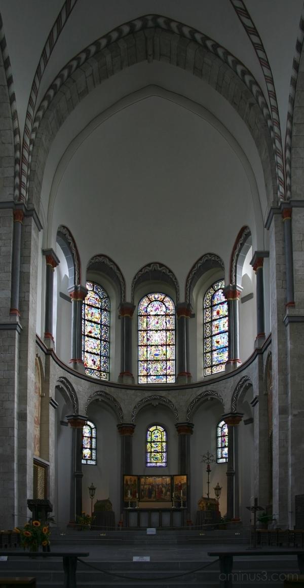 Choir Apse, St. Kunibert, Cologne