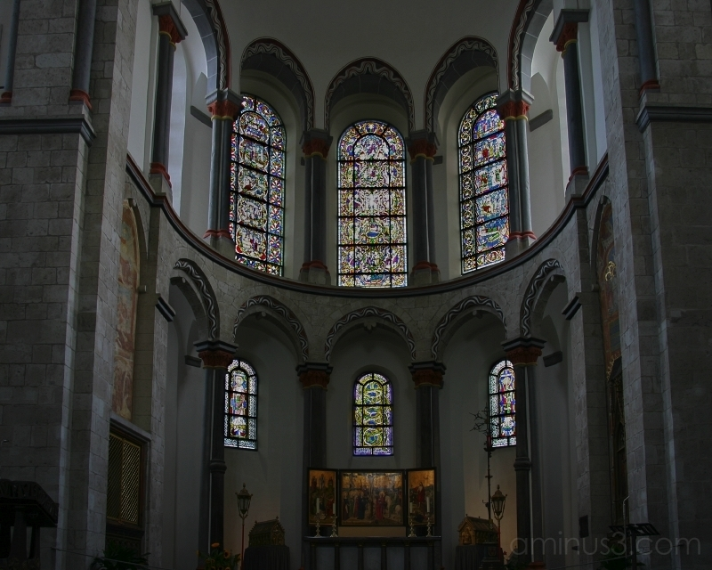 Choir Apse, St. Kunibert, Cologne