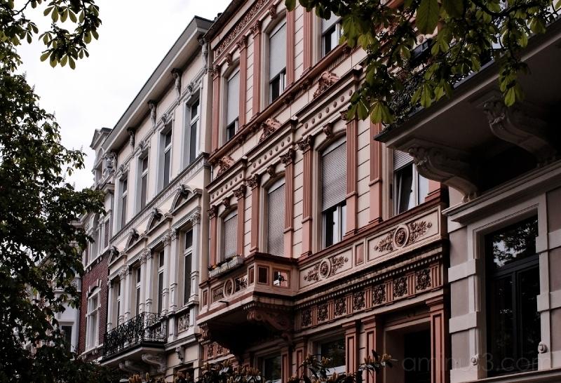 Old buildings, Bonn