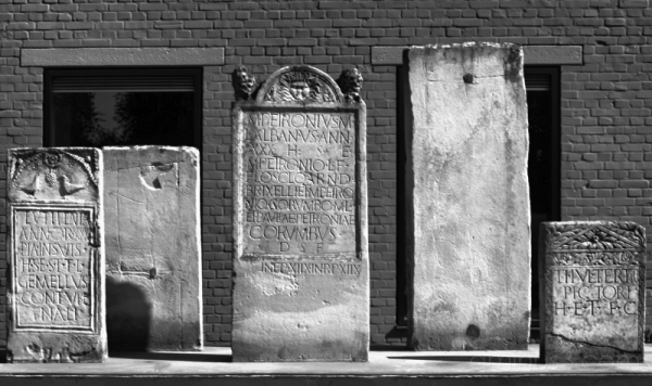 Gravestones at APX Xanten