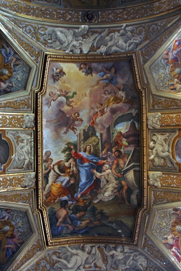Ceiling Fresco, Santa Maria Maddalena, Rome