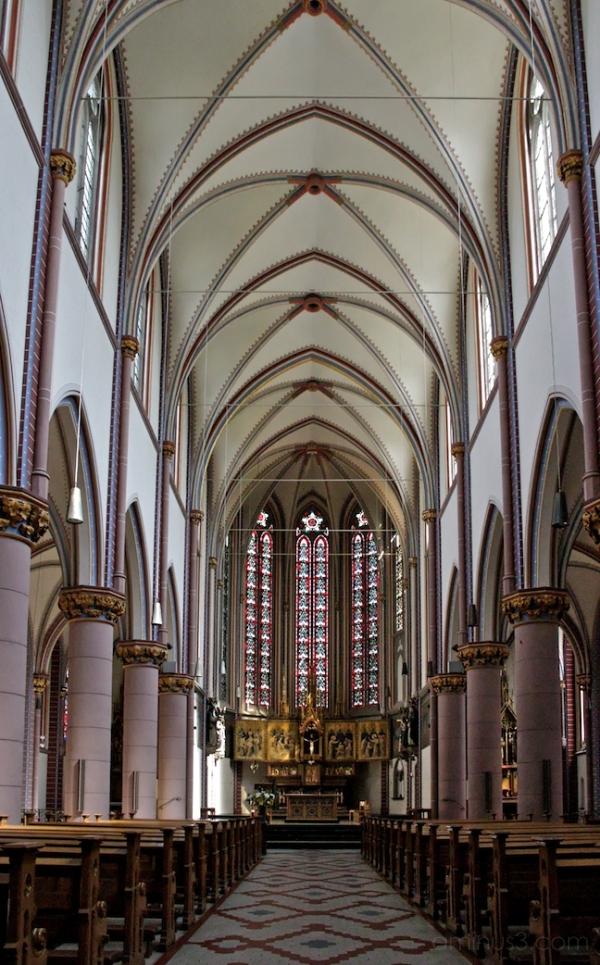 St. Marien, Interior
