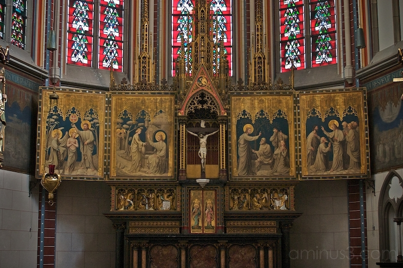 St. Marien, High Altar, Detail