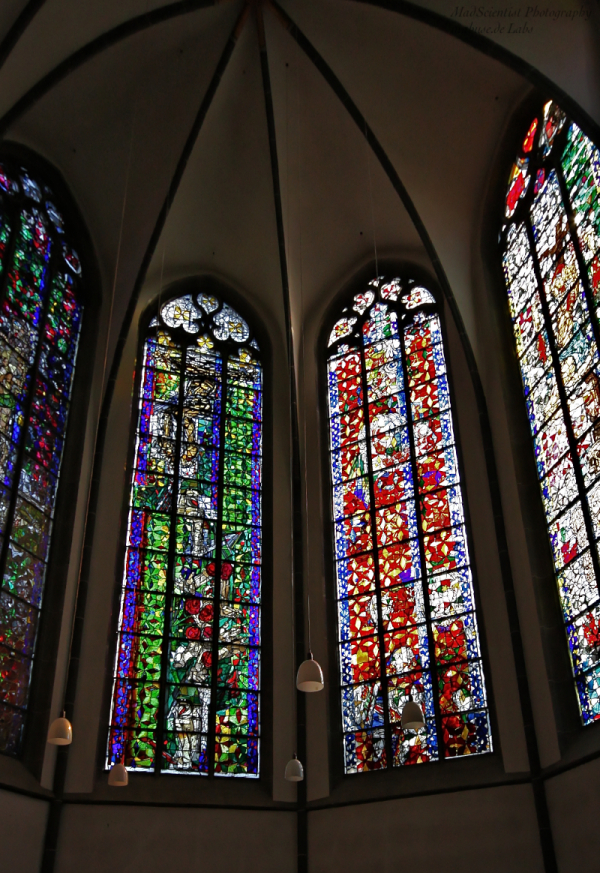 Windows at Maccabees Choir, St. Andreas, Cologne