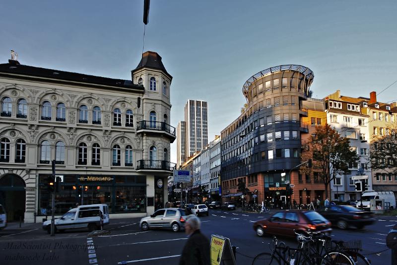 Entering Friedrichstadt