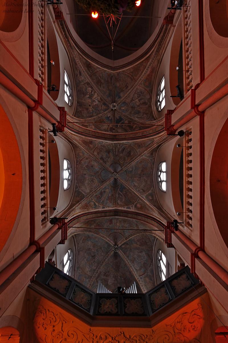 St. Maria in Lyskirchen, Ceiling