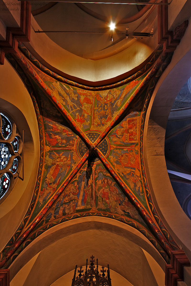 St. Maria in Lyskirchen, Catherine Chapel Ceiling