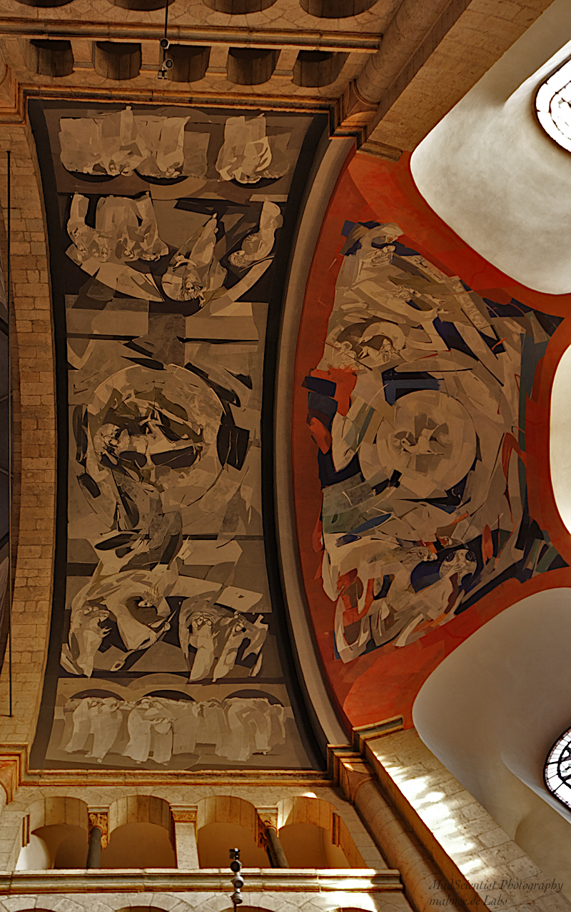 St. Aposteln, Ceiling: Detail