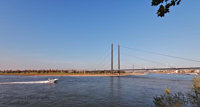 View of Oberkassel, Düsseldorf