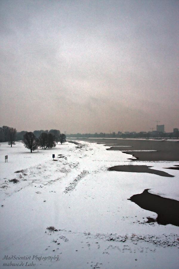 Rhine River, Düsseldorf