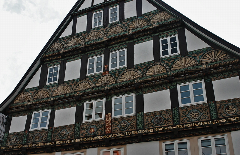 16th century building in Lemgo