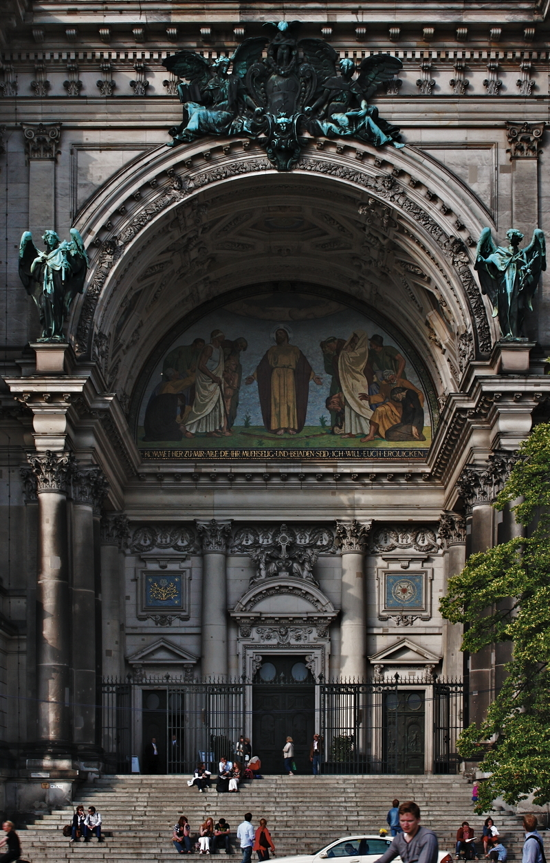Berlin Cathedral: Portal