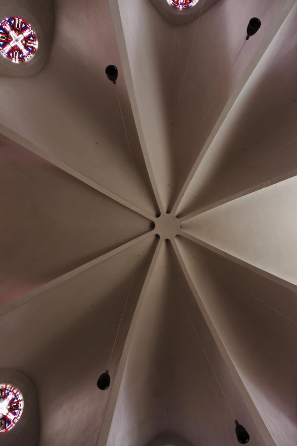 St. Engelbert, Cologne: Ceiling