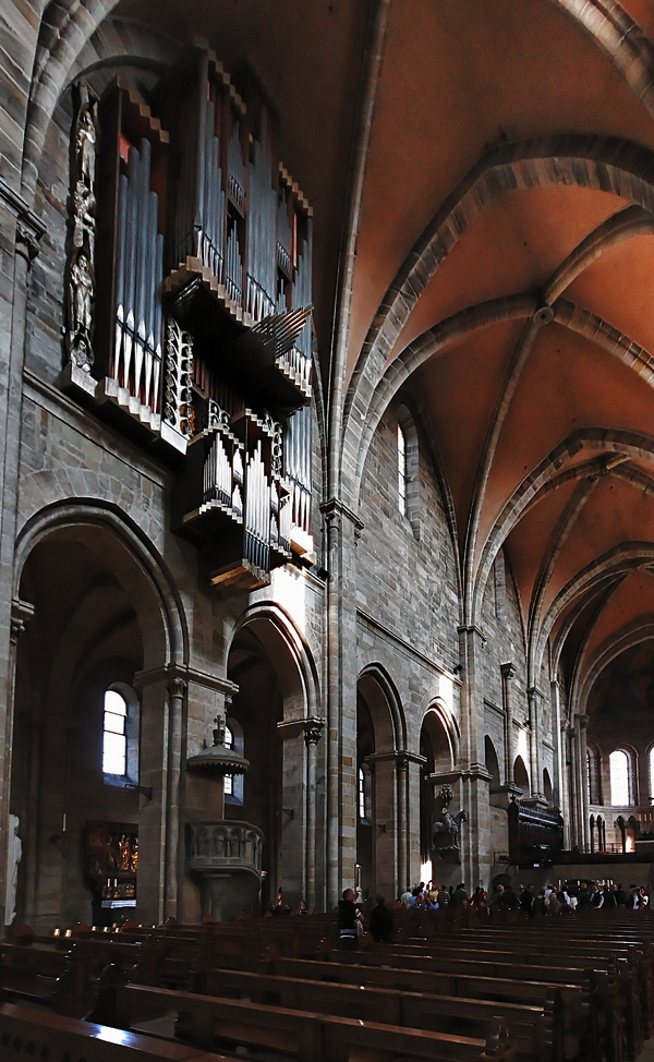 Bamberg Cathedral: Looking Eastwards
