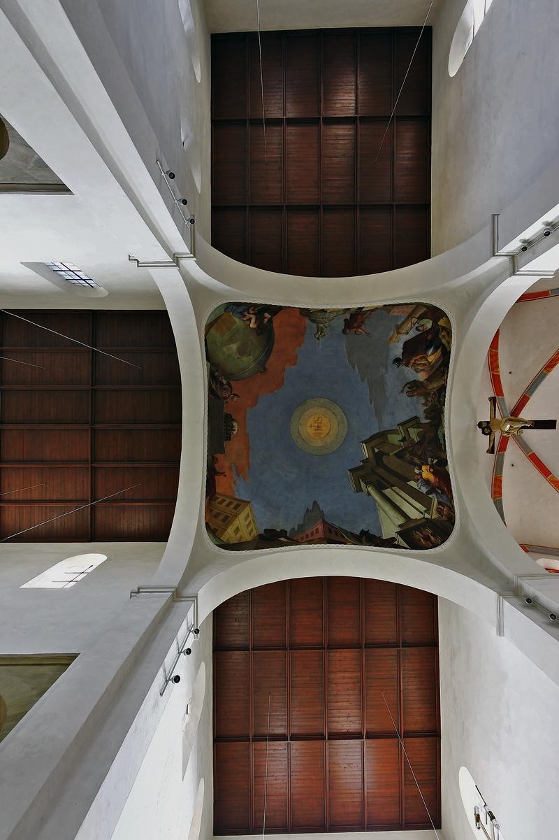 St. Jakob, Bamberg: Ceiling