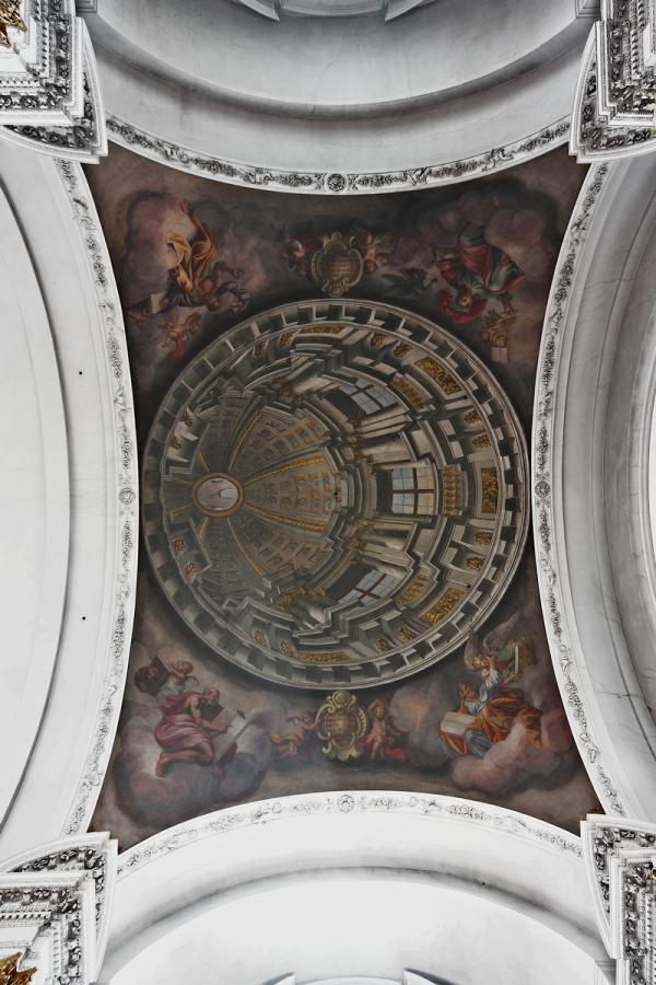 St. Martin, Bamberg: Illusionistic Cupola