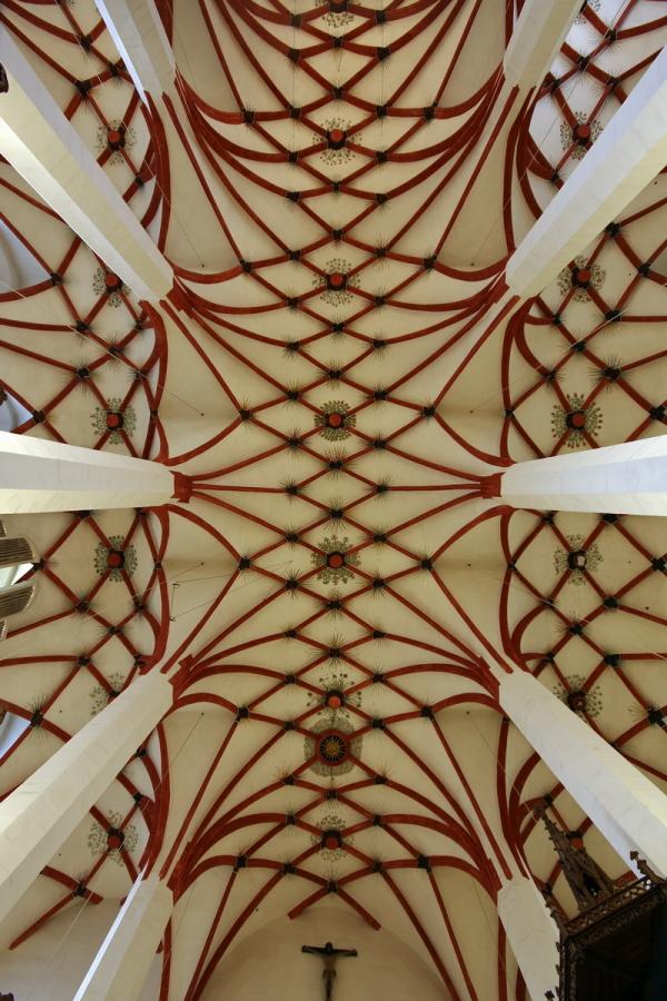 Thomaskirche, Leipzig: Ceiling
