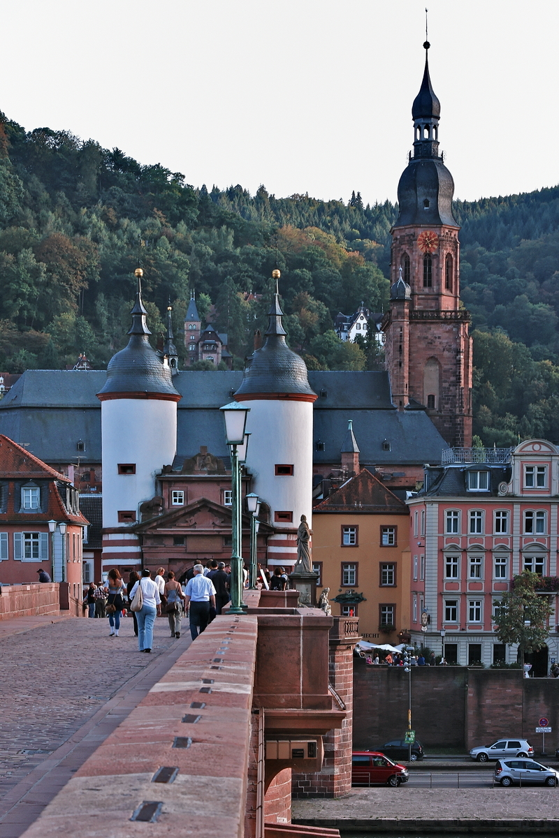 A Stroll Through Heidelberg: Alte Brücke