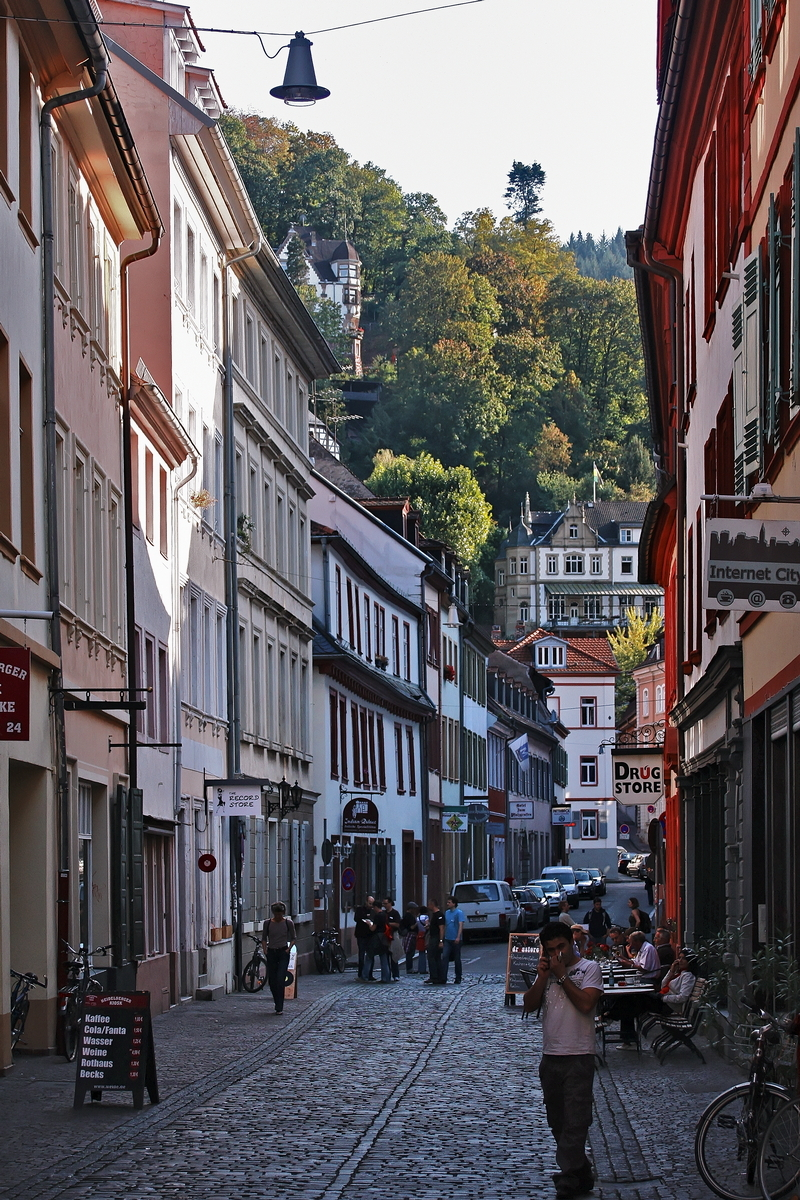 A Stroll Through Heidelberg: Kettengasse